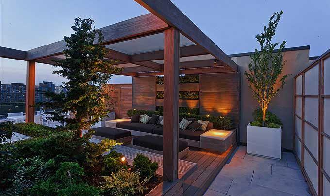 Ron Holbrook Rooftop Garden 1 Photographer: Toni Hafkenscheid & Peter Gumpesberger