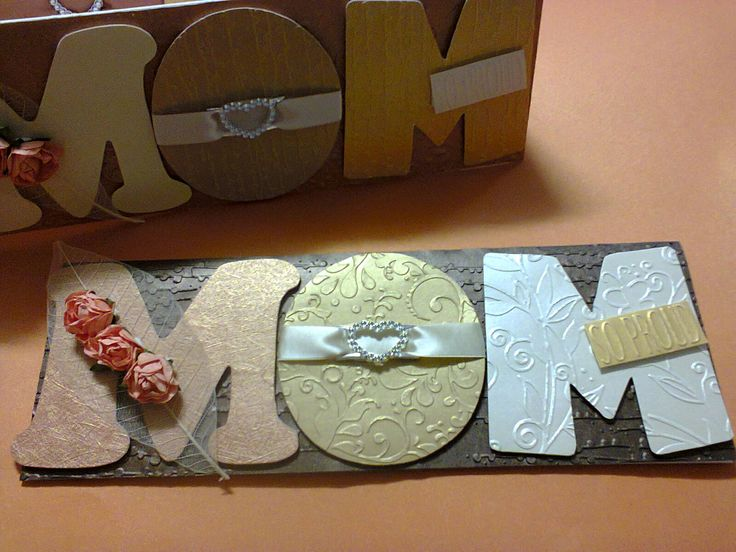 Personalized Mom Card Done In A5 And A4