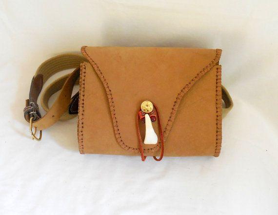 BLACKPOWDER SHOOTING BAG -Convertible Shoulder or Belt Bag