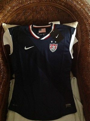USA Nike World Cup Soccer  Jersey blue size M womens