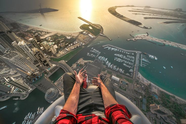 Top Of The Princess Tower In Dubai Photography By: Oleg Cricket