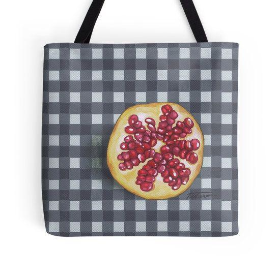 Pomegranate breakfast - acrylic painting