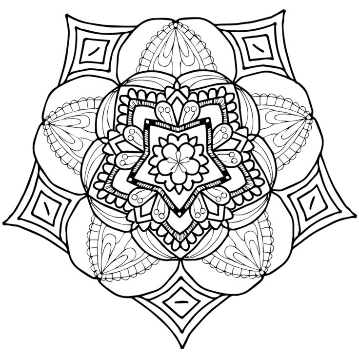 168 best images about Printable Mandalas to Color - Free ...