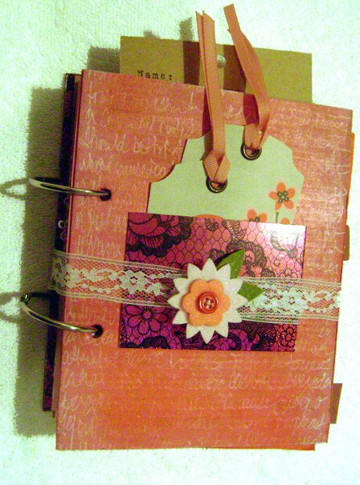 Smash Journal Valentines Day Art Handmade Scrapbook by Aloquin, $25.00