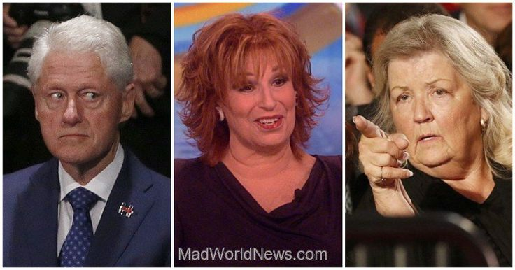 Joy Behar Calls Bill's Accusers 'Tramps,' Broaddrick Has 3 Words For Her