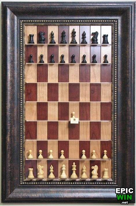 Cool Vertical Chess Board   Epic Win