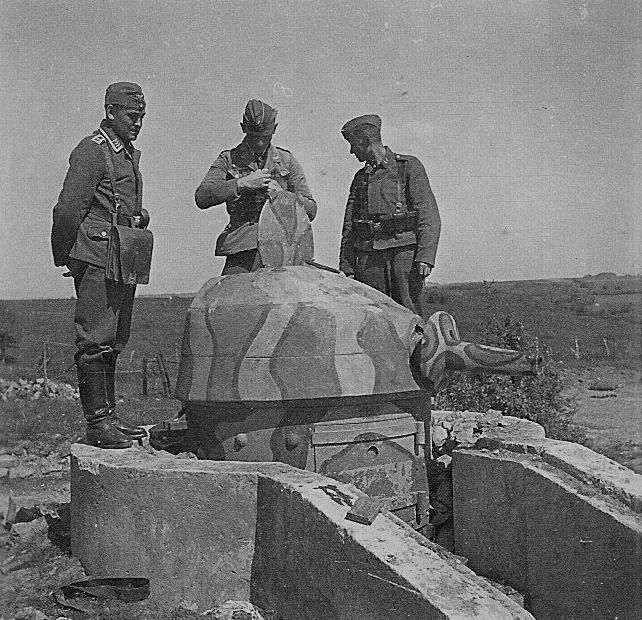 Tourelle STG Mle 1935 pour mitrailleuse
