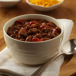 I made this Beefy Chili Skillet from ReadySetEat. Try the recipe at http://www.readyseteat.com/recipes-Beefy-Chili-Skillet-2271.html