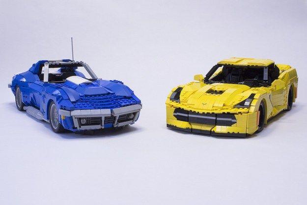 LEGO Stingray Corvettes capture all the details | The Brothers Brick | LEGO Blog