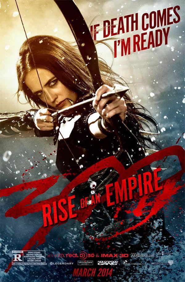 """Novos cartazes do filme """"300: A Ascensão de um Império"""" http://cinemabh.com/imagens/novos-cartazes-do-filme-300-a-ascensao-de-um-imperio"""