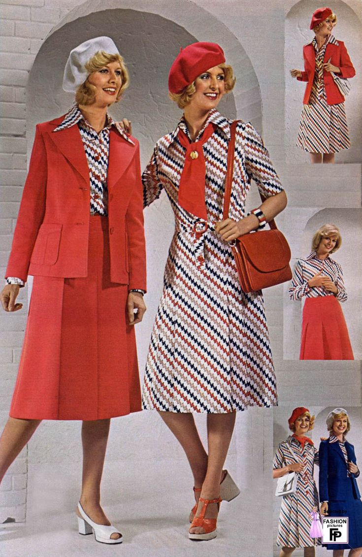 Fashion of 1970s - Photo Galleries Of Vintage Women S Fashion In The Fifties Sixties Seventies Eighties Nineties Pictures Of Retro Fashion Design From 1950 To