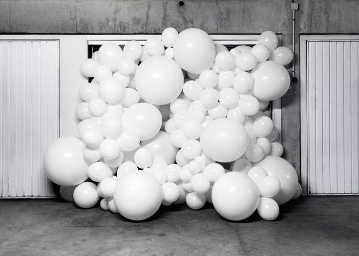"""""""These balloon invasions are metaphors,"""" said the artist. """"Their goal is to change the way in which we see the things we live alongside each day without really noticing them."""""""