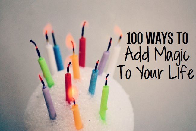 Looking for a bit more magic in your life? I've got a list of 100 ideas for your to get started and keep going on that journey of self love!