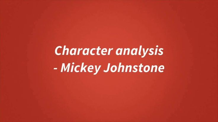 Blood Brothers Revision: Mickey Johnstone  || Ideas and inspiration for teaching GCSE English || www.gcse-english.com ||