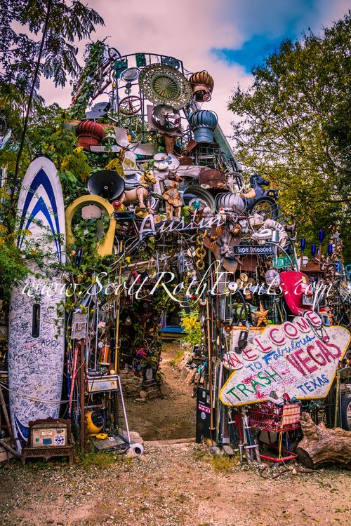 Cathedral Of Junk - Austin, TX  Been here, this place is so cool!