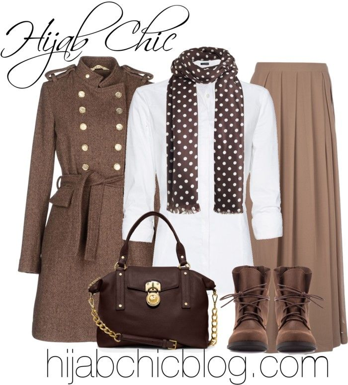 Hijab Style: Manila Grace brown turtleneck
