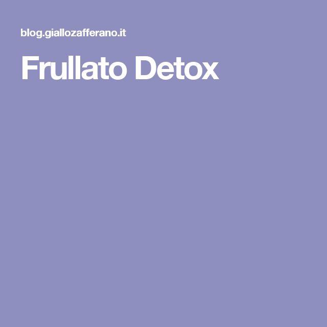 Frullato Detox
