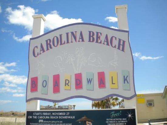 Carolina Beach Boardwalk,Wilmington,North Carolina