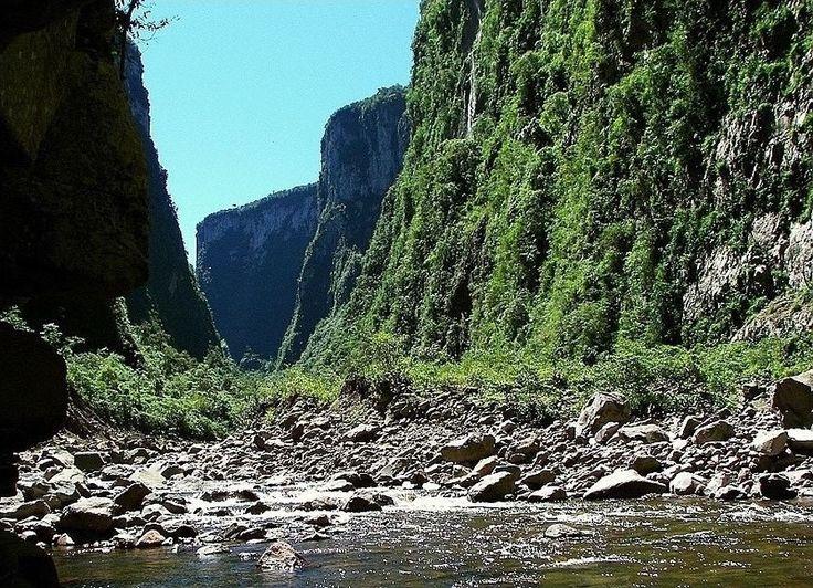 Rio dos Bois Aparados da Serra Cambará do Sul R/S