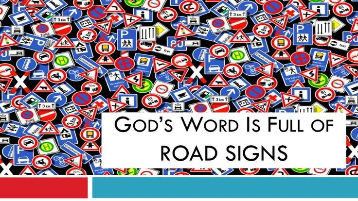 Road Signs in God's Word PowerPoint Show