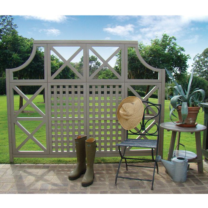 Decorative Garden Privacy Screen For Around Seating Or Lounging Areas