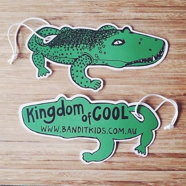 We love fun, groovy croc labels!