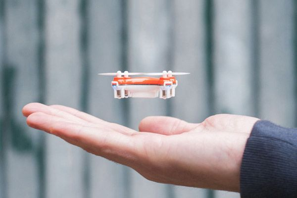 The 'World's Smallest' Consumer Drone Fits Easily In Your Palm - DesignTAXI.com