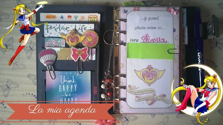 La mia agenda: Aggiornamento setup #plannersetup #sailormoon #plannersailor #setup