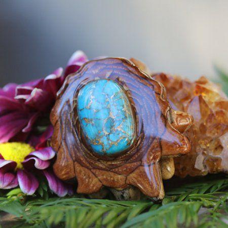 Modrá Mohave Turquoise | Třetí oko Pinecones