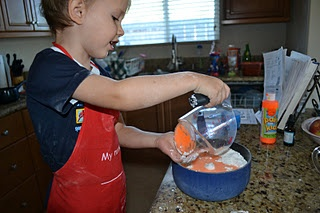 another recipe for playdough-- but this one is smoother because it has no flour.