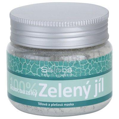 Telová a pleťová maska SALOOS GREEN CLAY | parfums.sk