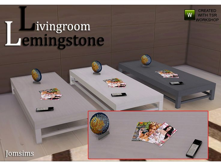 jomsims' coffee table lemingstone