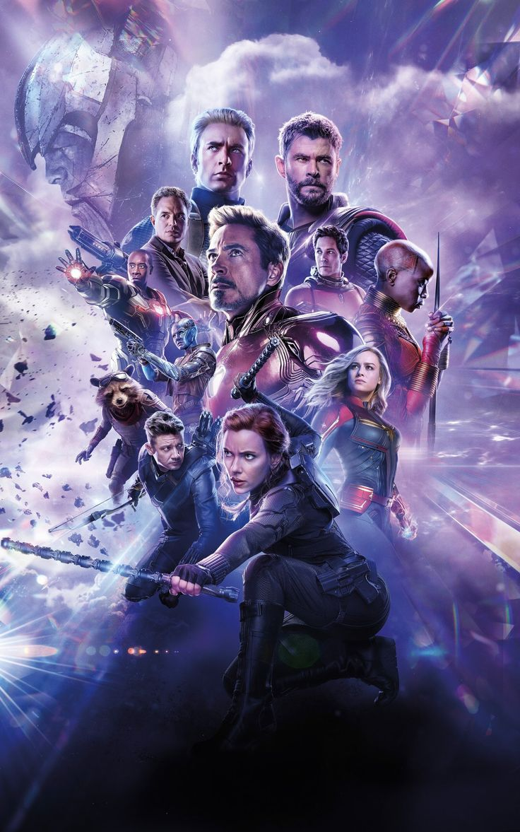 #MCU poster collection without text