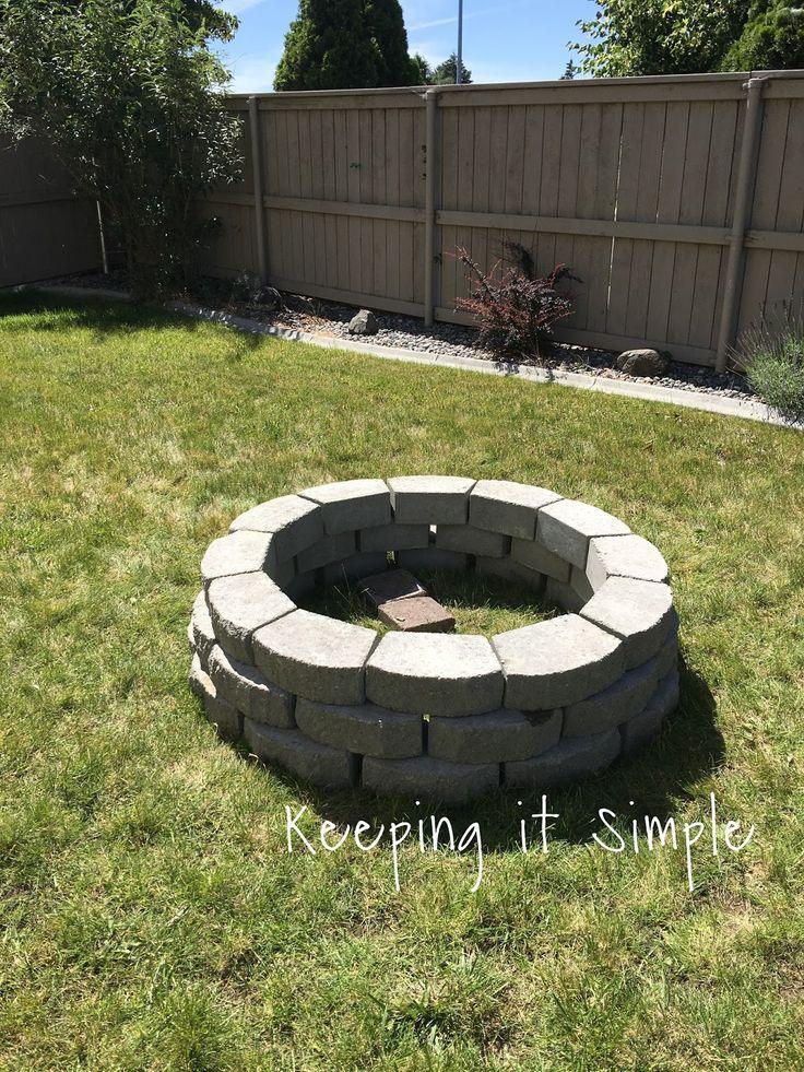 Keeping it Simple: Comment construire un feu de camp de bricolage pour seulement 60 $
