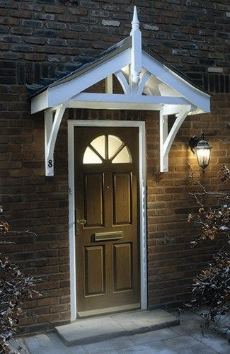 Richard Burbidge Pine Porch Canopy - Bu0026Q for all your home and garden supplies and advice on all the latest DIY trends & 57 best Porches images on Pinterest | Front door porch Front ...