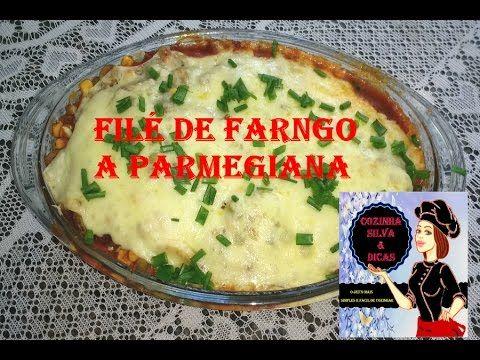 Receita de Como  Fazer File de Frango a Parmegiana