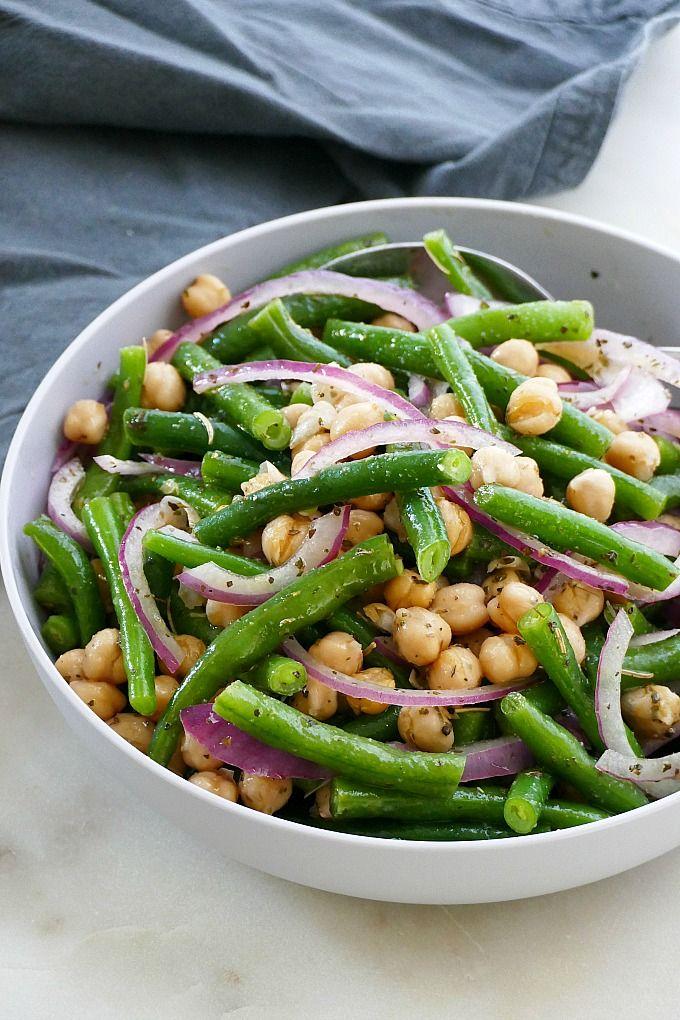 Italian Marinated Green Bean Salad Recipe Bean Salad Recipes Green Bean Salad Recipes Cookout Dishes