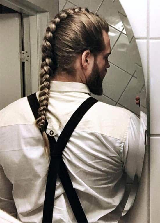 40 Coolest Viking Hairstyles: Most Sought Trendy Haircut For Men #Braided #Fauxh…   – men's hairstyle