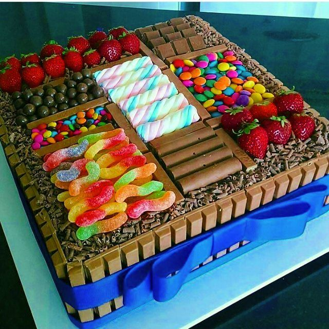 Giant Kit Kat Box Cake with Chocolate and Candy Tag your friends Follow @mouthwatering.desserts for more Desserts Orders and RecipesLINK IN OUR BIO . . #delightsdesserts #dessert #food #desserts #foodporn #yum #yummy #foodforfoodies #foodpics #instafood #sweet #chocolate #cake #icecream #dessertporn #delish #foods #delicious #tasty #eat #eating #hungry #sweettooth#junkfood #nutella #instadessert #desserttable #cheesecake #oreo#cookies