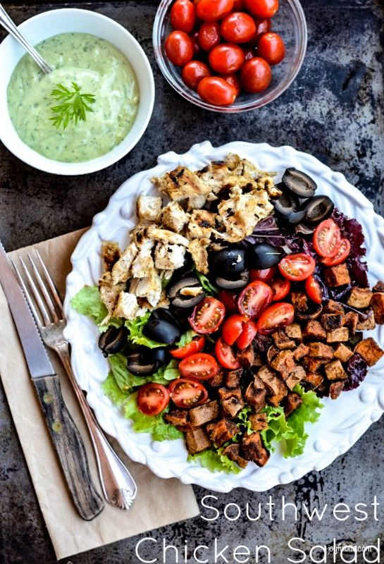 avocado lime dressing southwest chicken salads grilled chicken salad ...