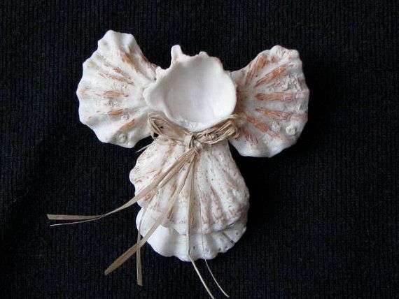 1000 images about seashell angels on pinterest crafts for Seashell ornament ideas