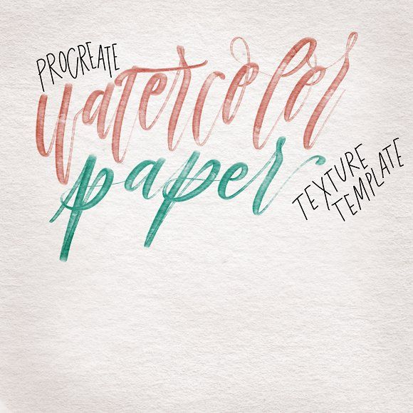 Procreate Watercolor Paper Texture Watercolor Paper Texture