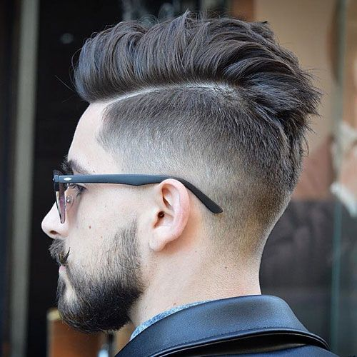 28++ Taper fade comb over with beard inspirations