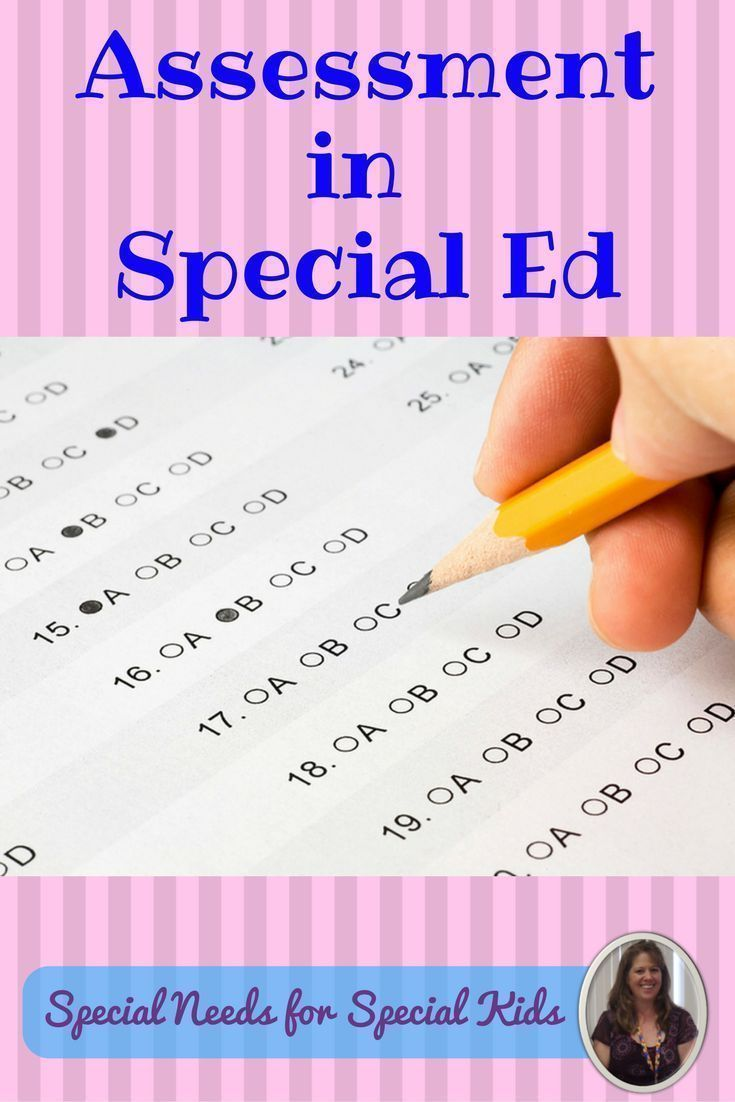 Assessment in the Special Education Classroom.  Do you do formal assessments on your students with the most significant challenges?  Here are some ways to make that possible. #SPED #specialed #SpecialEducation #SpecialNeedsTeacher #lessonplans #blog #assessment
