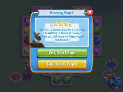FarmVille: Harvest Swap (UX Examples (Mobile Games)) Tags: game mobile ui rating ipad 2015 farmvilleharvestswap