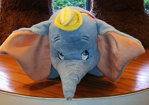 Dumbo Pillow Pet- If you know me you know I have always loved Pillow Pets, but Pillow Pets from my favorite Disney movies Oh My Goodness!  I already have Bullseye!
