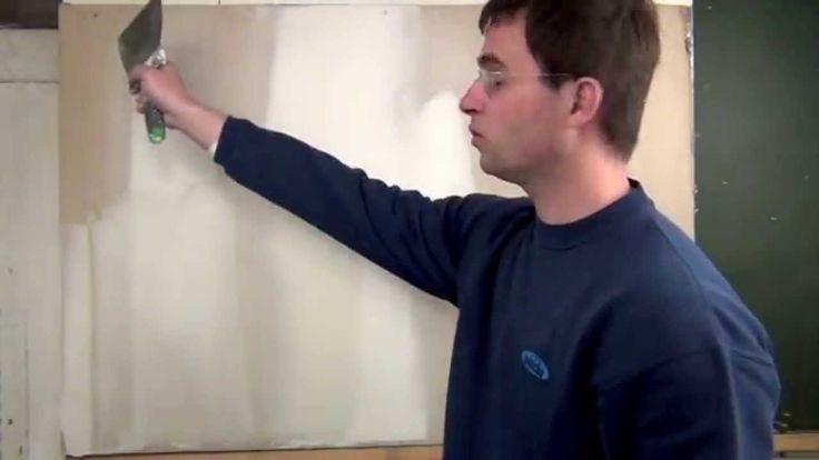 Comment enduire pour obtenir des murs parfaitement lisses