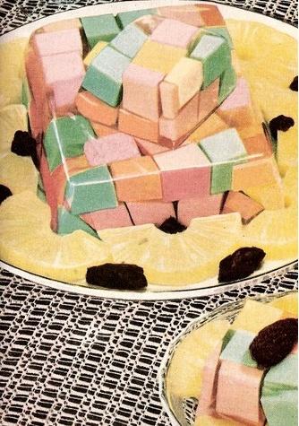 Jello Rubik's Cube and Prunes