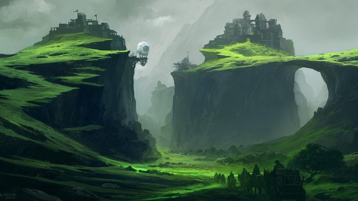 Animals For > Fantasy Art Landscapes