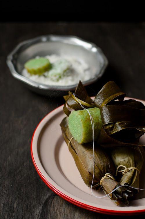 Pandanus Glutinous rice rolls